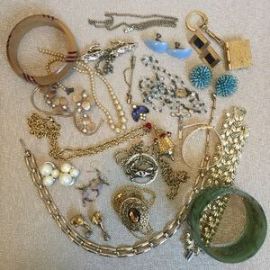 Bundle Of Jewelry - wearable and as is